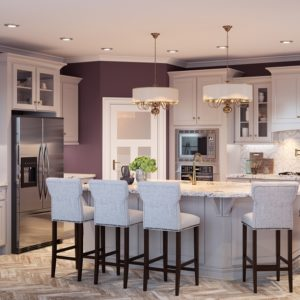 Shaker Dove Kitchen Cabinets